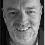 Geoff Hughes profile photo black and white