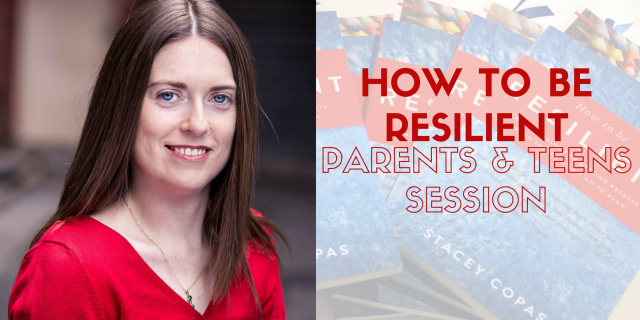 How to be resilient parents teenagers training RESILIENCE EVENT HEADER